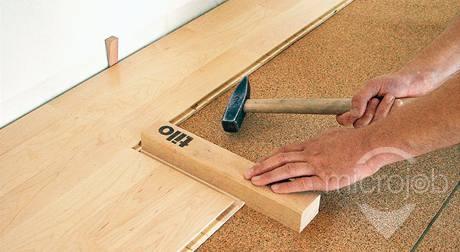 Strihanie podlahy